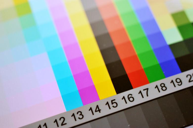 perfil de cores