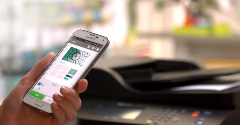 impressão via celular
