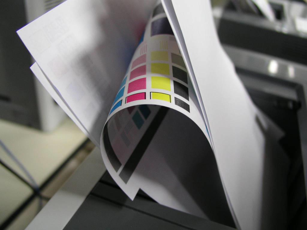 fila de impressão