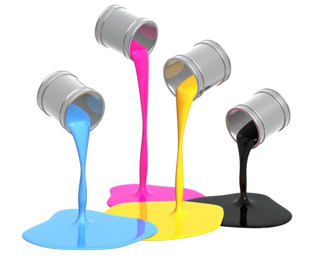 Краски и кисточки картинки