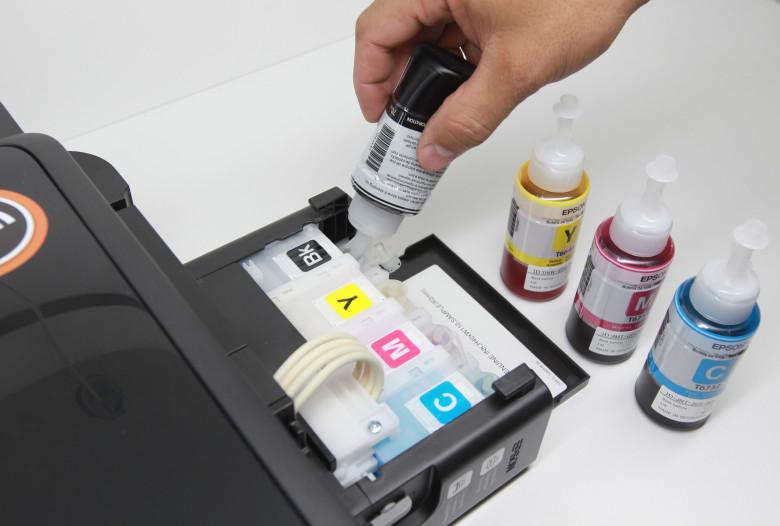 impressora bulk ink