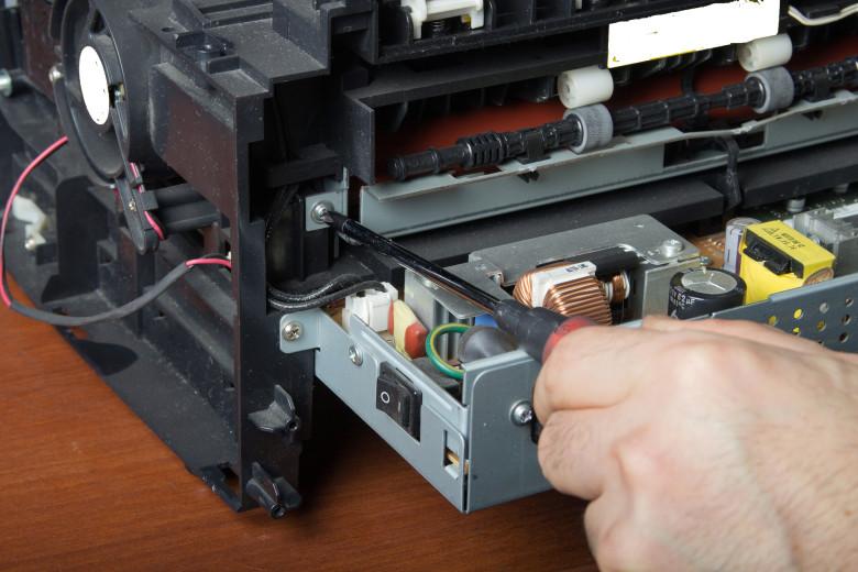 manutenção preventiva de impressora