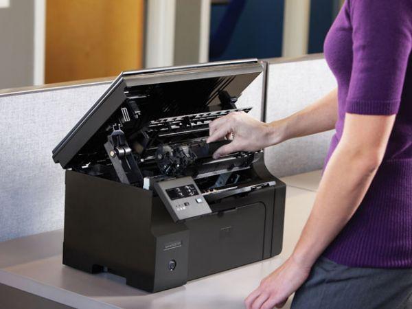 manutenção da impressora