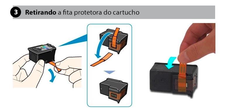 retirando-fita-protetora-do-cartucho-o-que-fazer-quando-a-impressora-nao-reconhece-o-cartucho