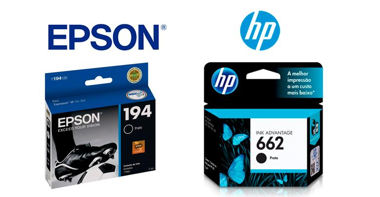 qual-impressora-e-melhor-Cartuchos-de-Tinta-Epson-x-Cartuchos-de-Tinta-HP