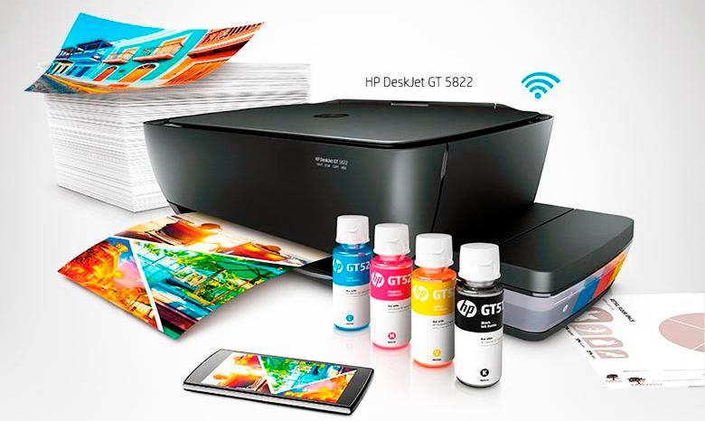 Impressora-HP-Deskjet-GT-5822