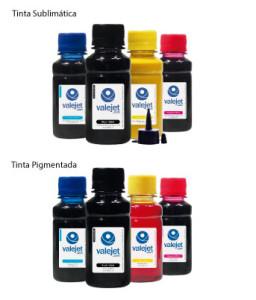 transfer e sublimação tintas